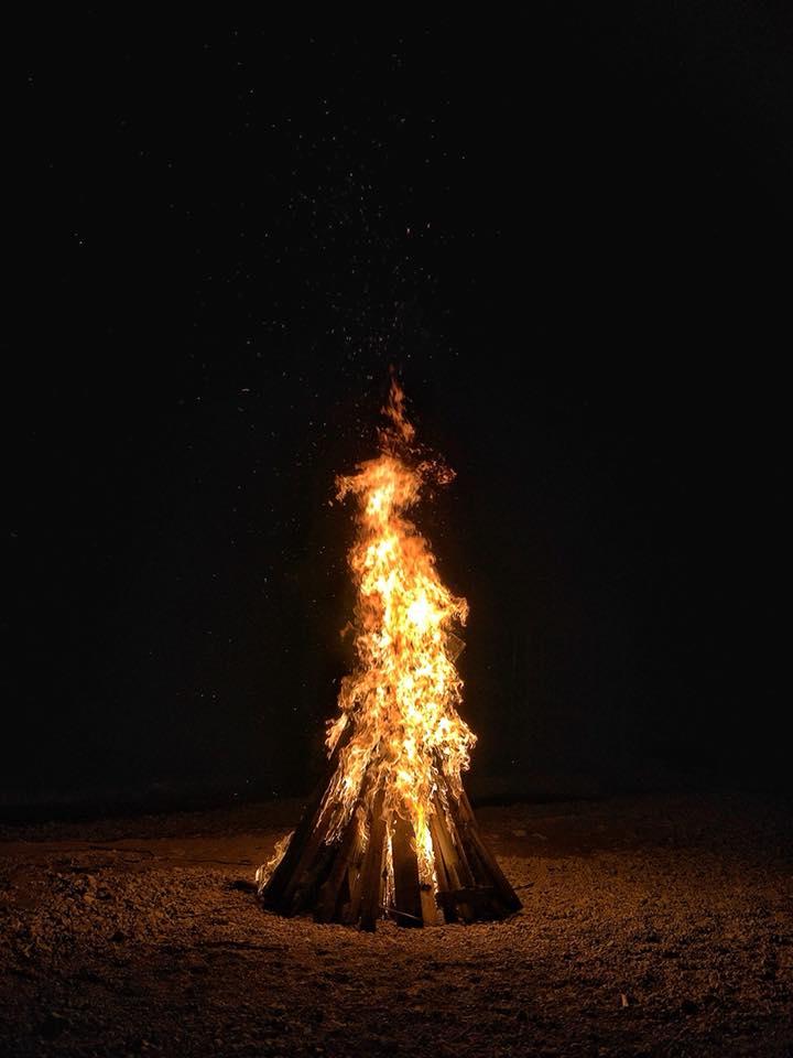 Noordze Hostel Bonfire