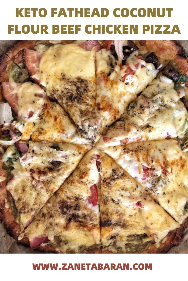 Pinterest Keto Coconut Flour Pizza