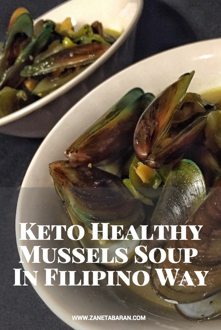 Pinterest Keto Healthy Mussels Soup In Filipino Way