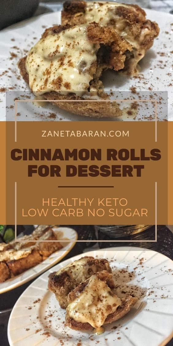 Cinnamon Rolls Dessert
