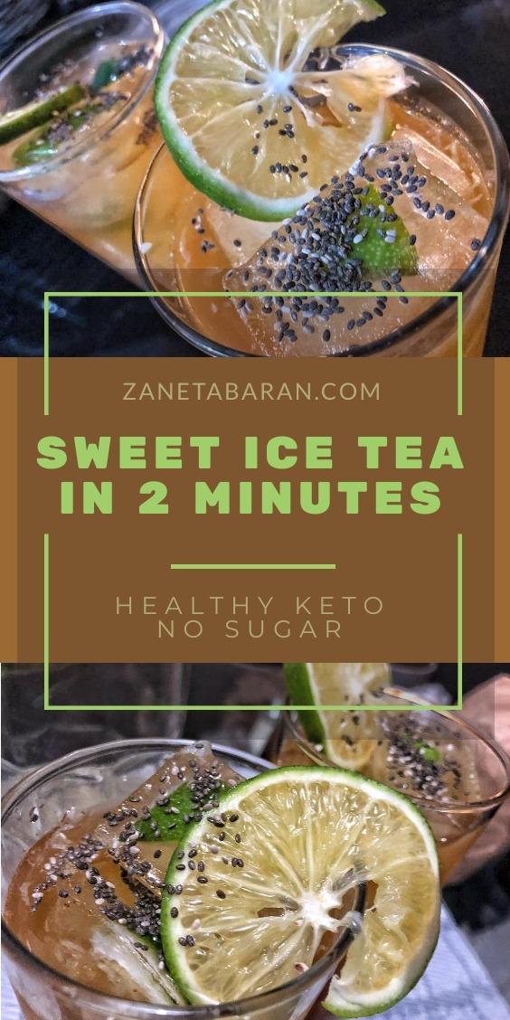 Ice Tea Healthy