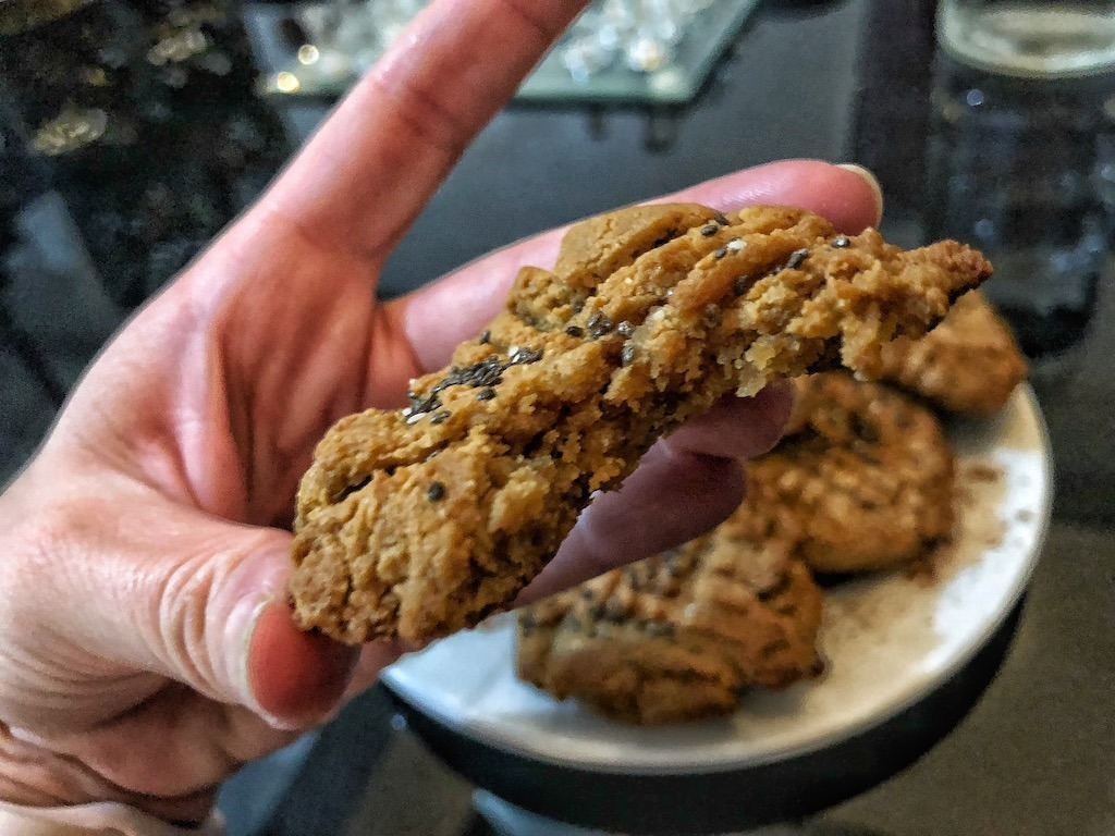Quick Healthy Keto Low Carbs Peanut Butter Cookies From 3 Ingredients Must Try