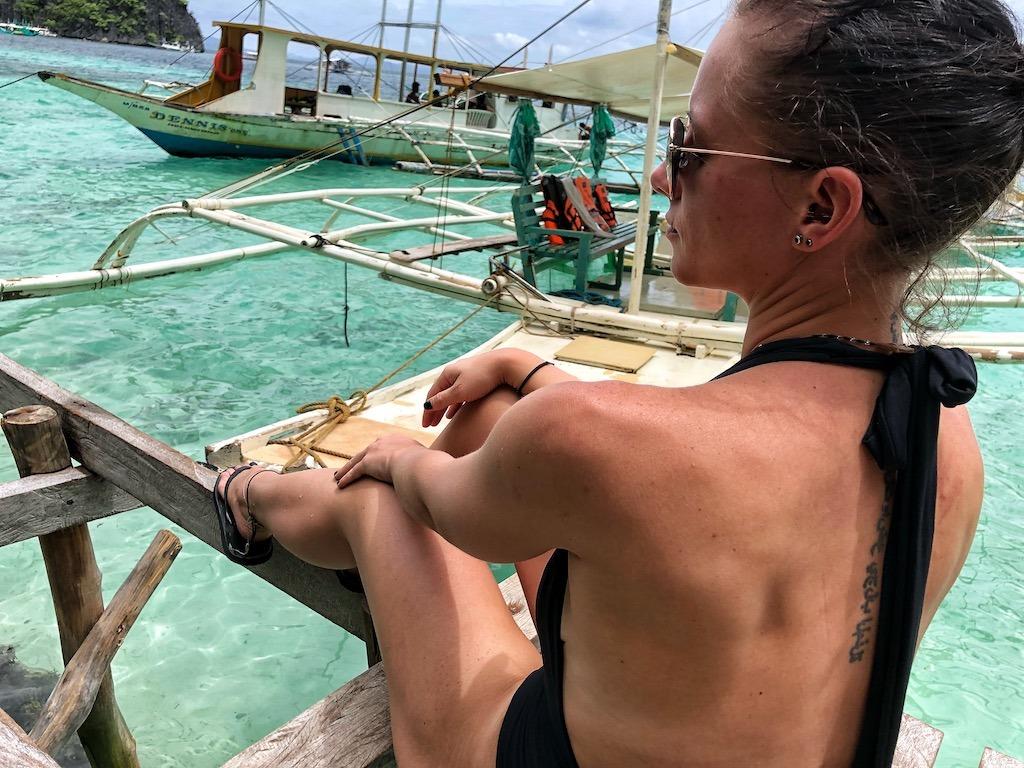 Things To Do in Coron While Raining Season – Photographic Account Beach 91 Selfie