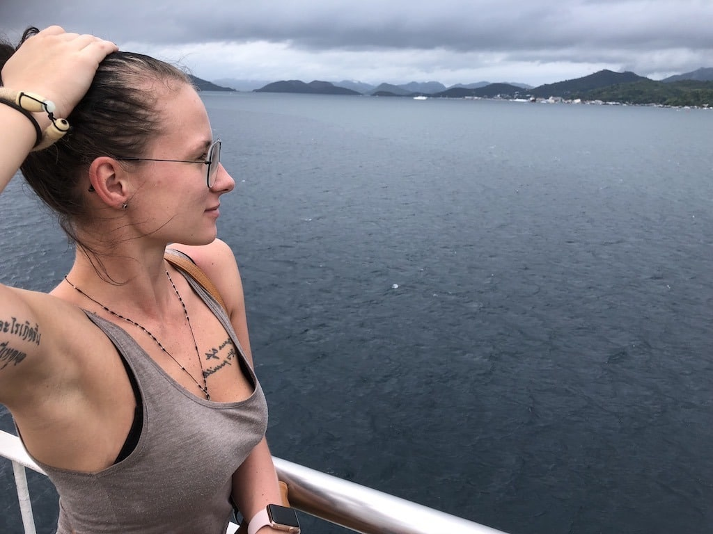 Things To Do in Coron While Raining Season – Photographic Account Ferry Trip Selfie