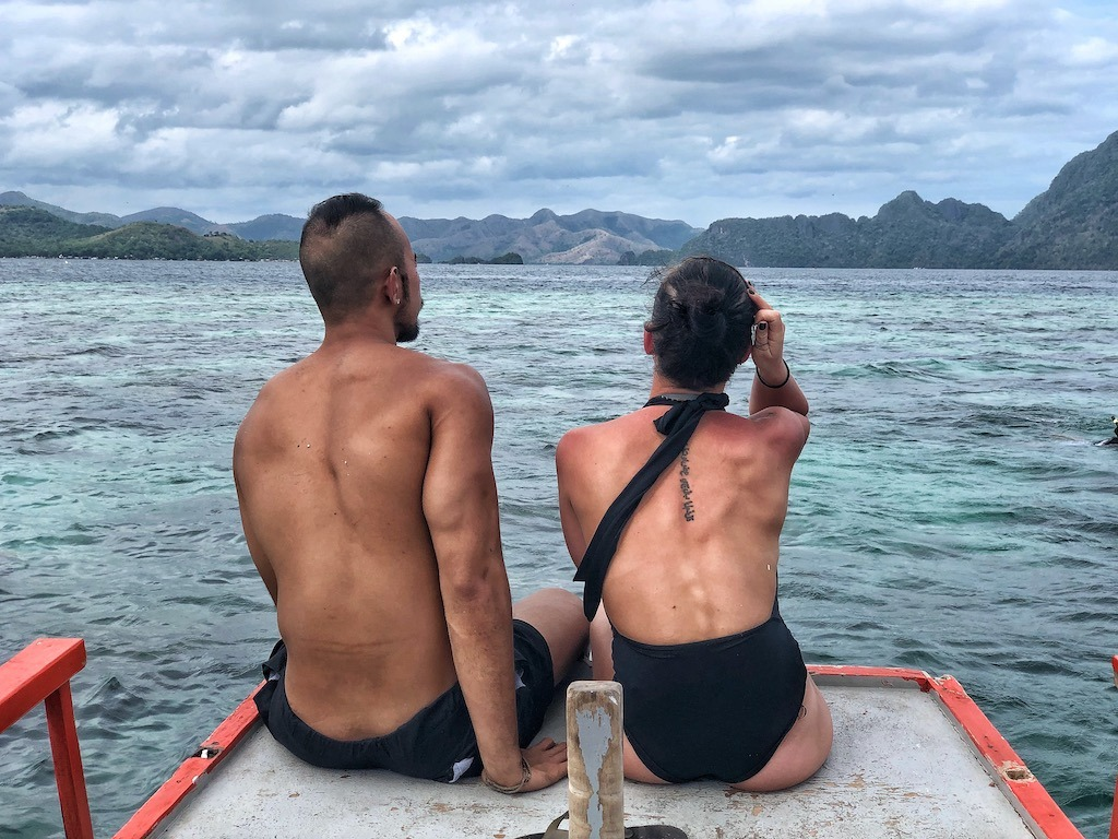 Things To Do in Coron While Raining Season – Photographic Account Garden Reef Coral Couple