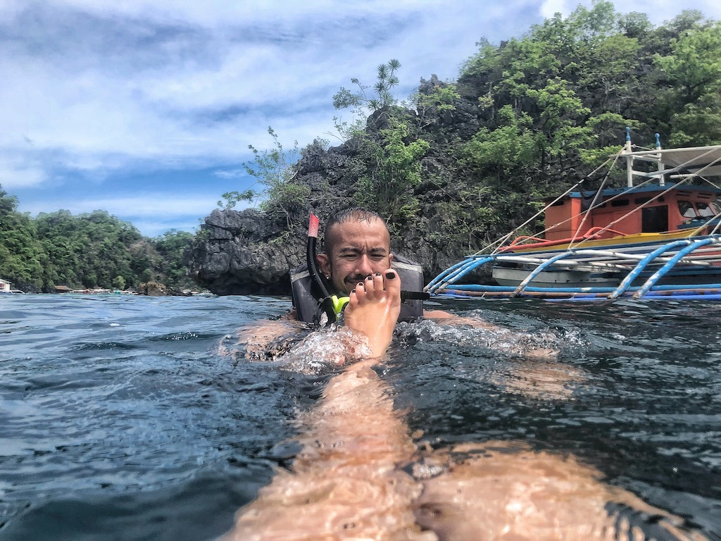 Things To Do in Coron While Raining Season – Photographic Account Japanese Ship Wreck Couple