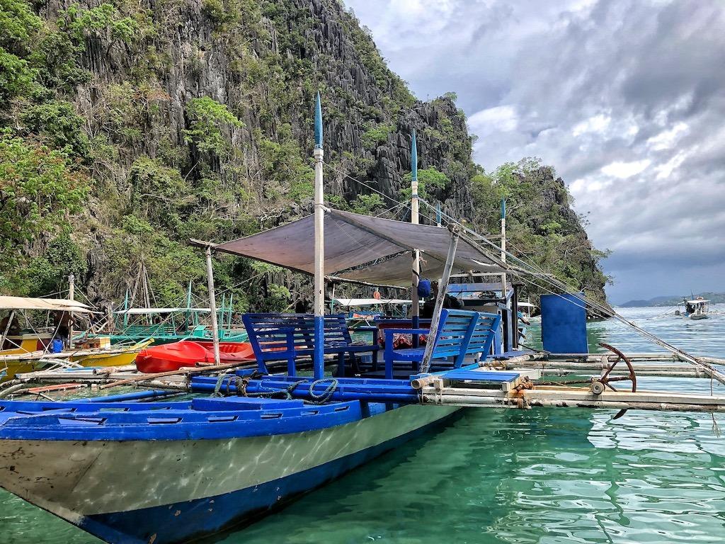 Things To Do in Coron While Raining Season – Photographic Account Kayangan Lake Boat View