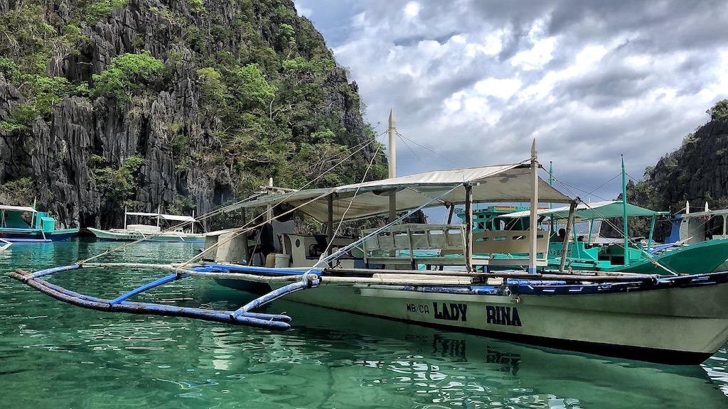 Things To Do in Coron While Raining Season – Photographic Account Kayangan Lake Boats