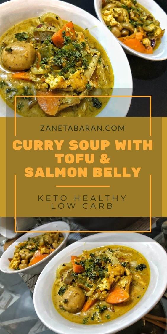 Curry Salmon Belly