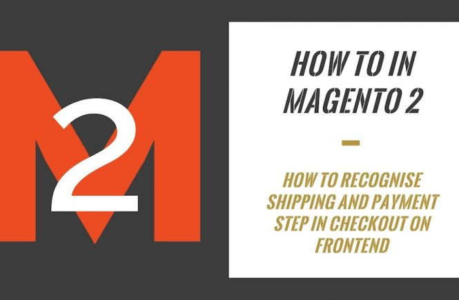 How To In Magento 2 How To Recognise Shipping And Payment Step In Checkout On Frontend