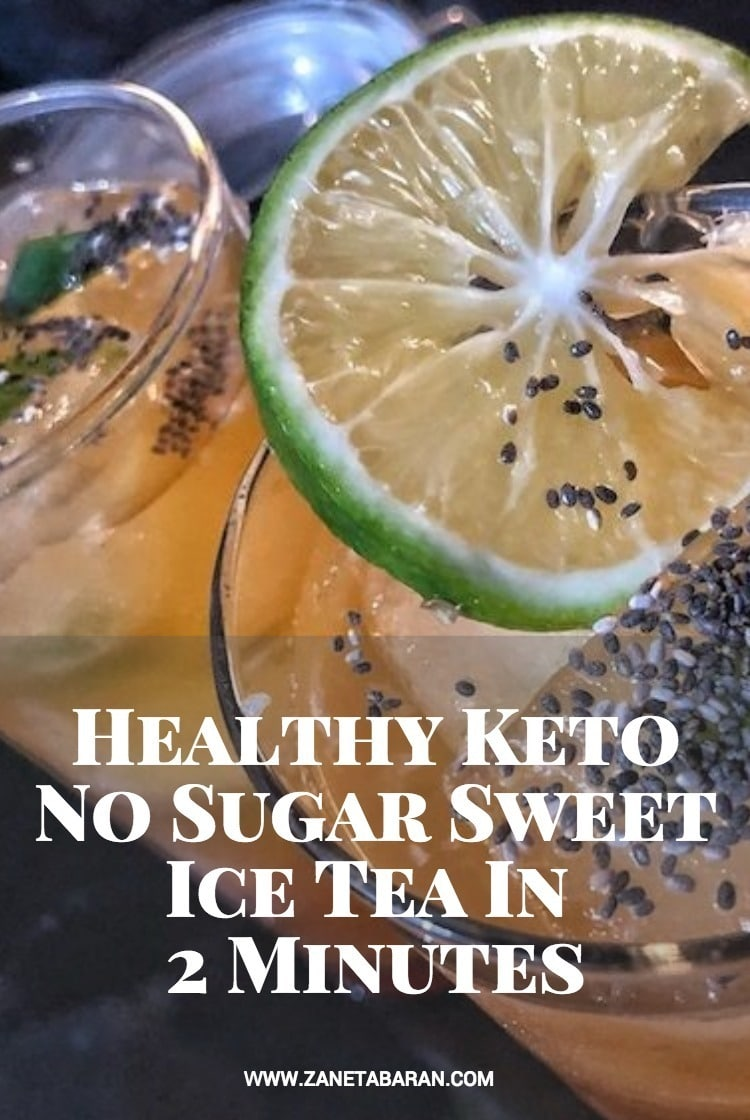 Pinterest Healthy Keto No Sugar Sweet Ice Tea In 2 Minutes