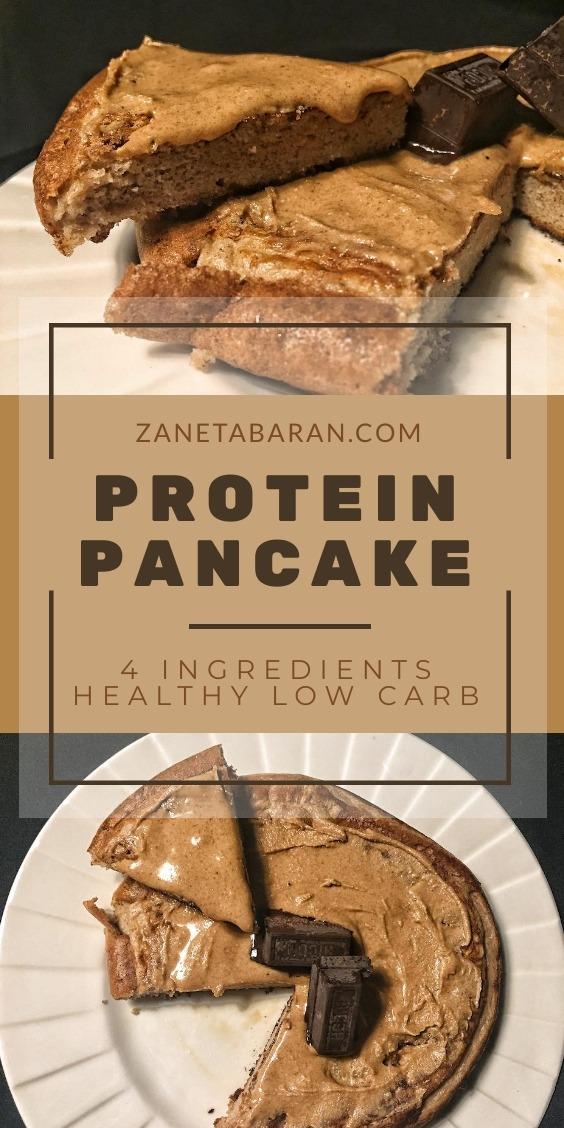 Protein Pancake Dessert