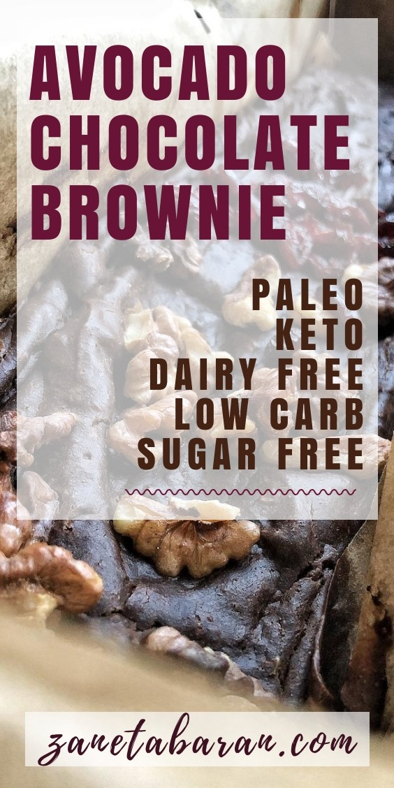 Keto Brownie Healthy Paleo Pinterest