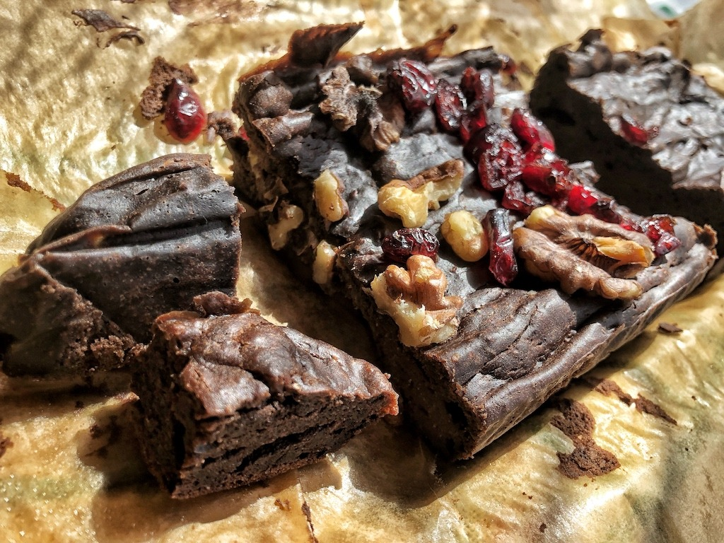 Paleo Keto Dairy Free Low Carb Sugar Free Avocado Chocolate Brownies Ready