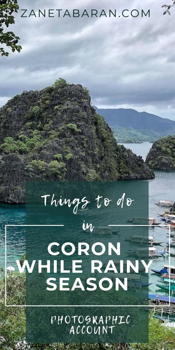Pinterest Coron Rainy Things To Do