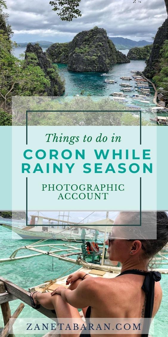 Pinterest Things To Do Coron Rainy