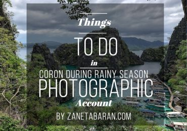Things To Do in Coron While Rainy Season – Photographic Account