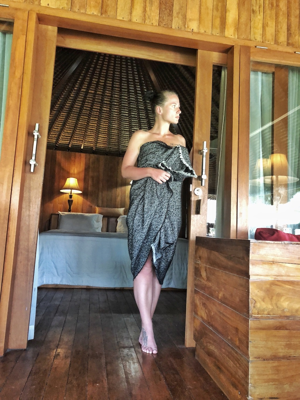 Hostel Recommendation While Travelling to Nusa Lembongan – Sukanusa Luxury Huts Morning