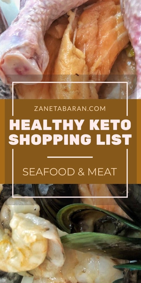 MUST HAVES IN KITCHEN ON HEALTHY DIET – MY HEALTHY KETO SHOPPING LIST – SEAFOOD AND MEAT
