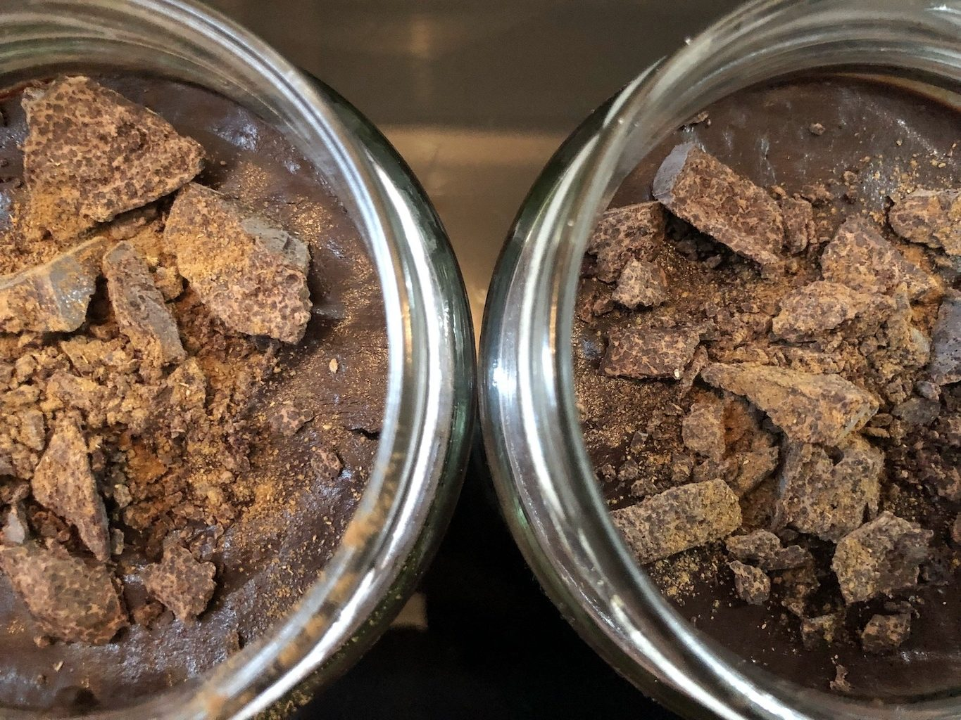 Homemade Healthy Keto No Sugar Chocolate In Jar