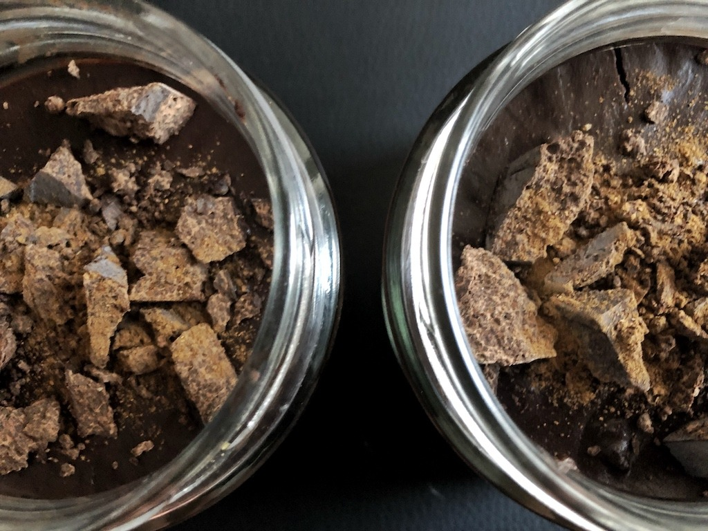 Homemade Quick Healthy Keto No Sugar Chocolate In Jar Idea For Dessert