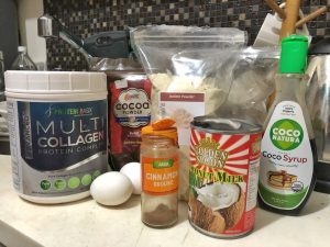 Homemade Quick Healthy Keto No Sugar Chocolate In Jar Ingredients