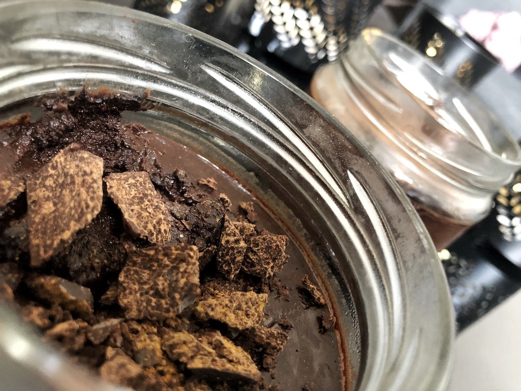Homemade Quick Healthy Keto No Sugar Chocolate In Jar Party Dessert