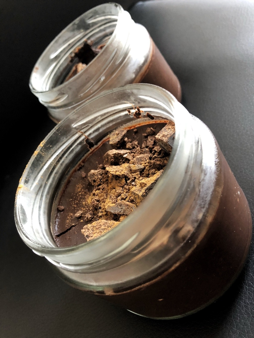 Homemade Quick Healthy Keto No Sugar Chocolate In Jar Party Snack