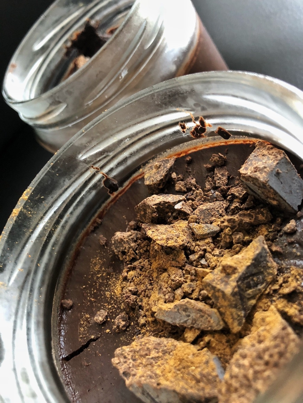 Homemade Quick Healthy Keto No Sugar Chocolate In Jar Snack