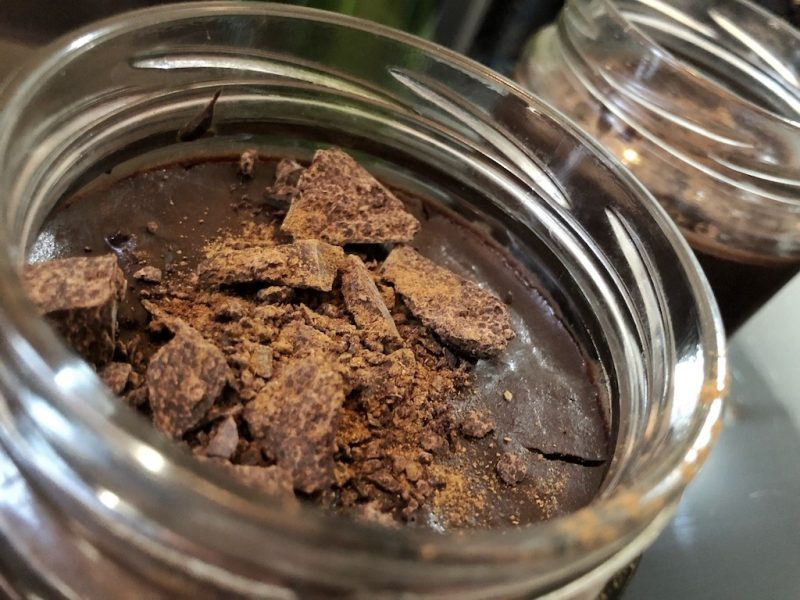 Homemade Quick Healthy Keto No Sugar Chocolate In Jar