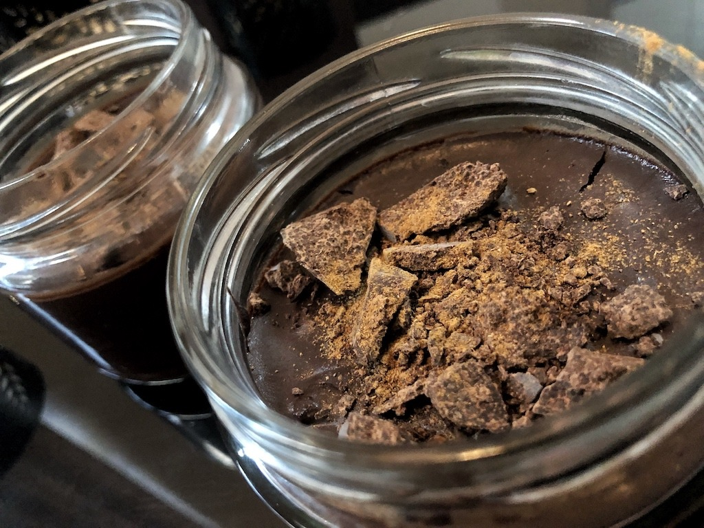 Homemade Quick Healthy Keto No Sugar Chocolate In Jars Dessert