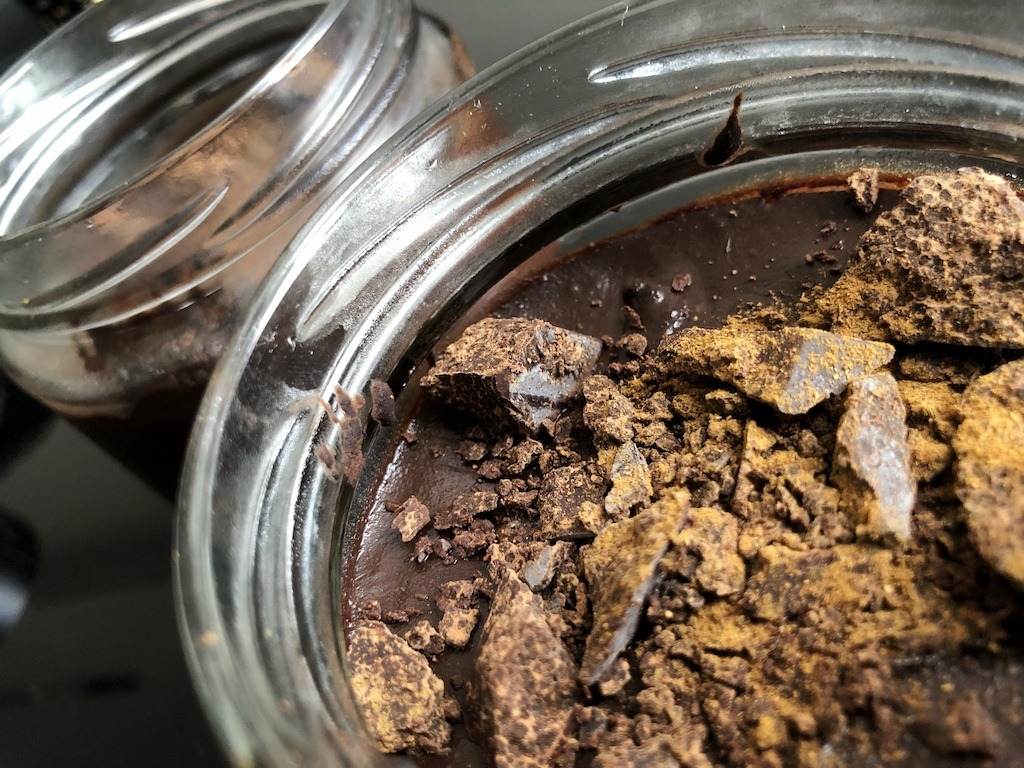 Homemade Quick Healthy Keto No Sugar Chocolate In Jars Kids Party
