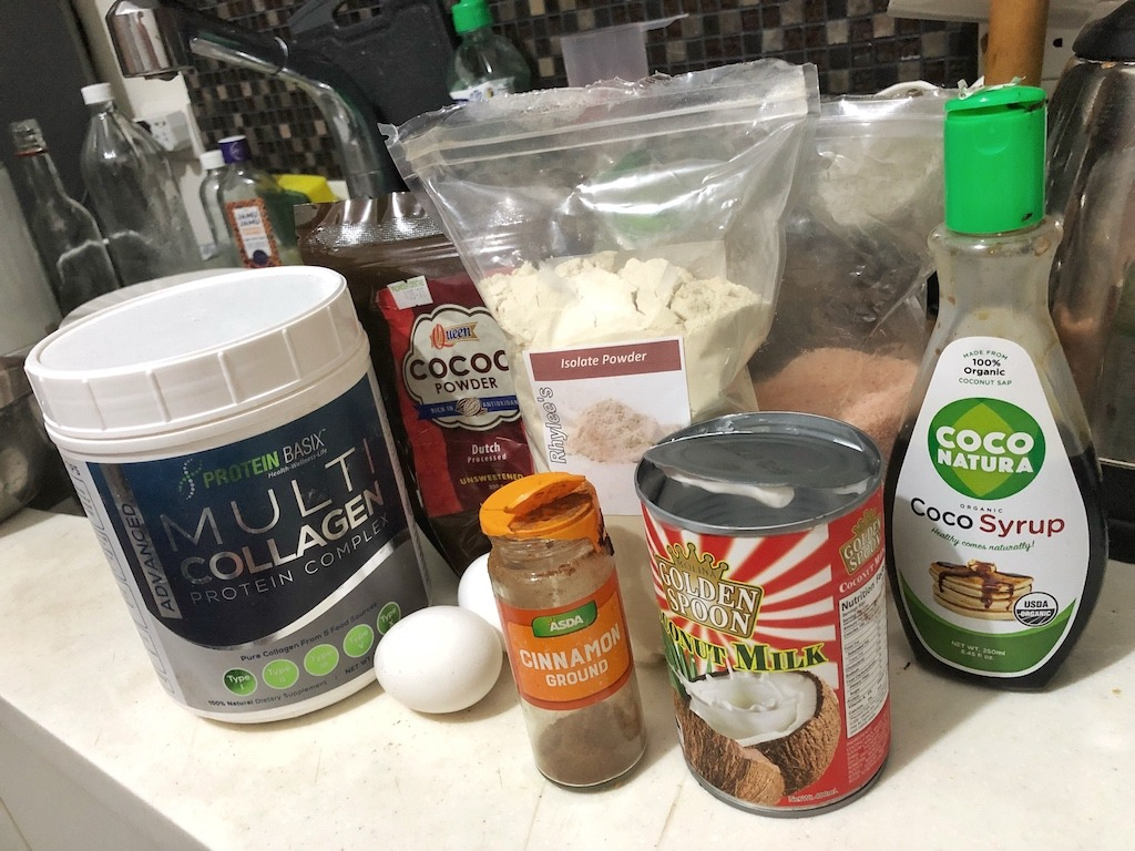Homemade Quick Healthy No Sugar Chocolate In Jar Ingredients