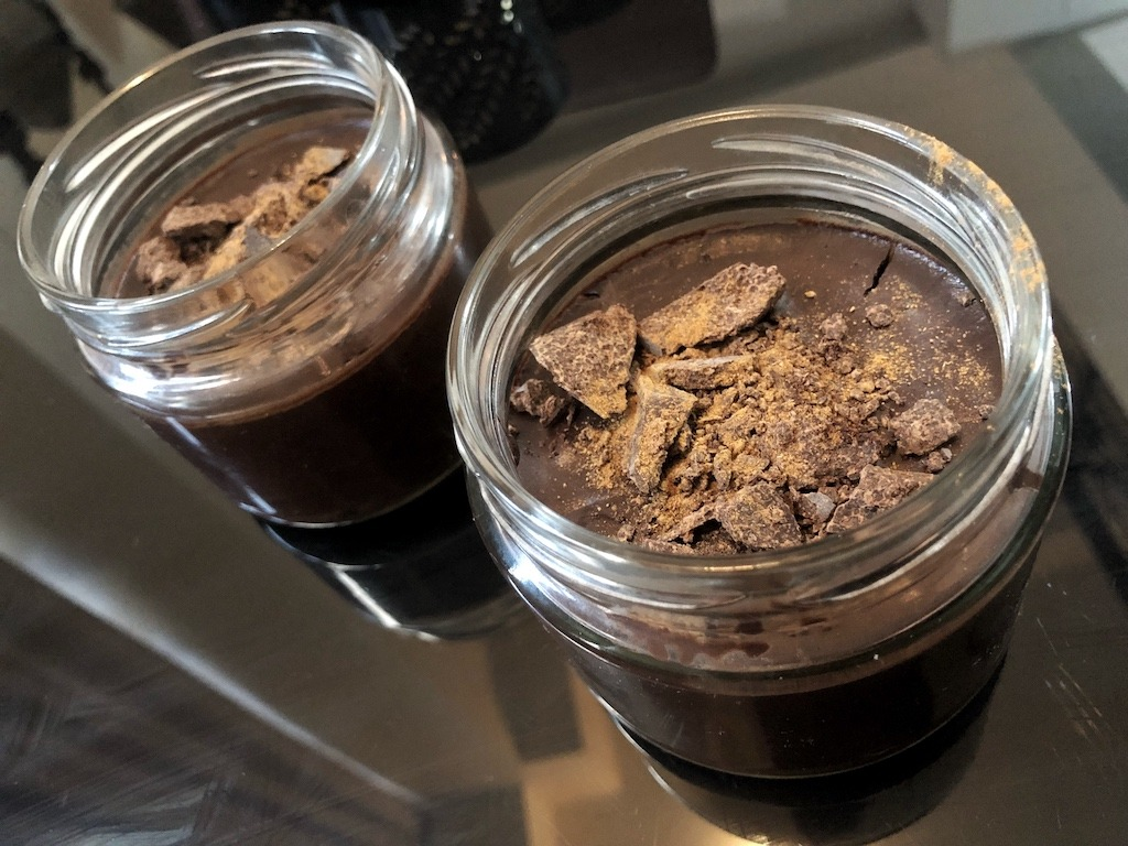 Homemade Quick Healthy No Sugar Chocolate In Jars