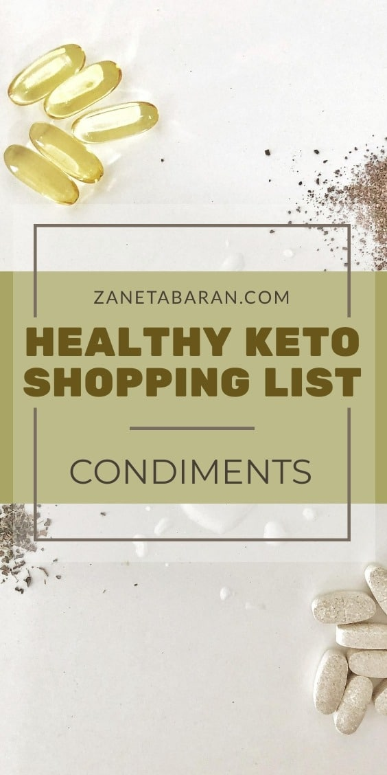 MUST HAVES IN KITCHEN ON A HEALTHY DIET – MY HEALTHY KETO SHOPPING LIST – DRINKS AND SUPPLEMENTS