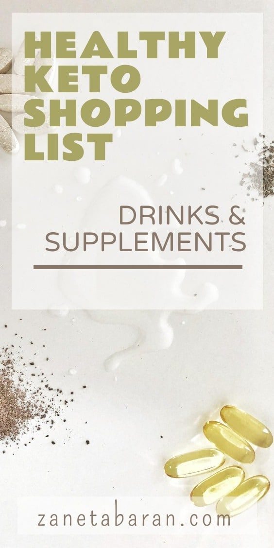 MUST-HAVES IN MY KITCHEN ON A HEALTHY DIET – MY HEALTHY KETO SHOPPING LIST DRINKS & SUPPLEMENTS