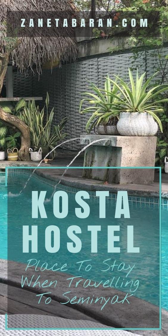 Pinsterest Kosta Hostel Seminyak
