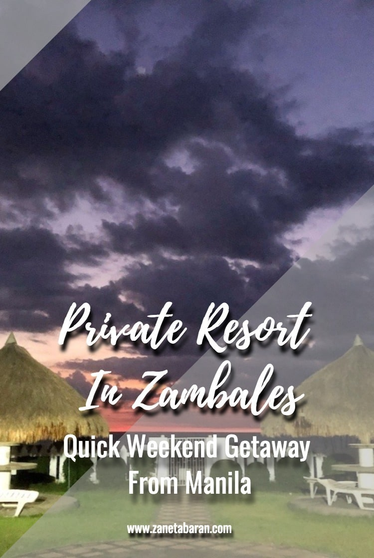 Pinterest Quick Weekend Getaway From Manila Private Resort In Zambales