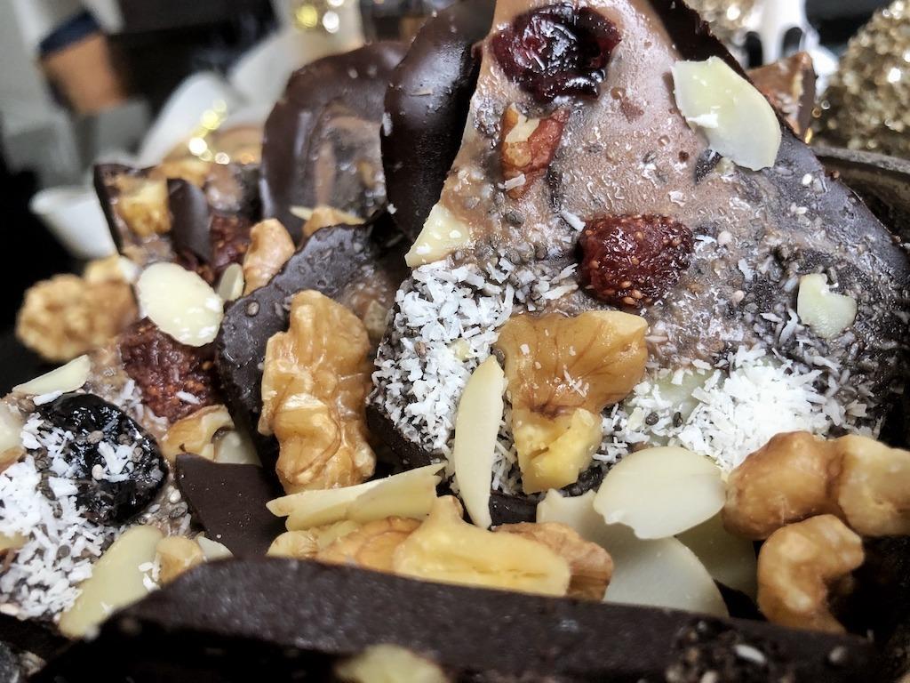 Dark Chocolate Pieces - Homemade Healthy Keto Quick Desserts