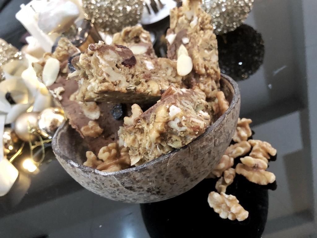 Granola Bar - Homemade No Sugar Quick Snack