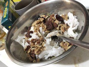 Granola Bar - Homemade Vegan Paleo Keto No Sugar Quick Snack Coconut