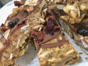 Granola Bar - Homemade Vegan Paleo Keto No Sugar Quick Snack Friends
