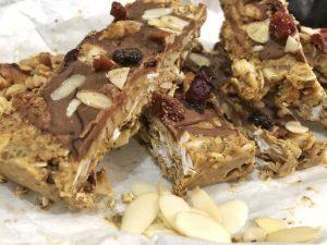 Granola Bar - Homemade Vegan Paleo Keto No Sugar Quick Snack Pieces
