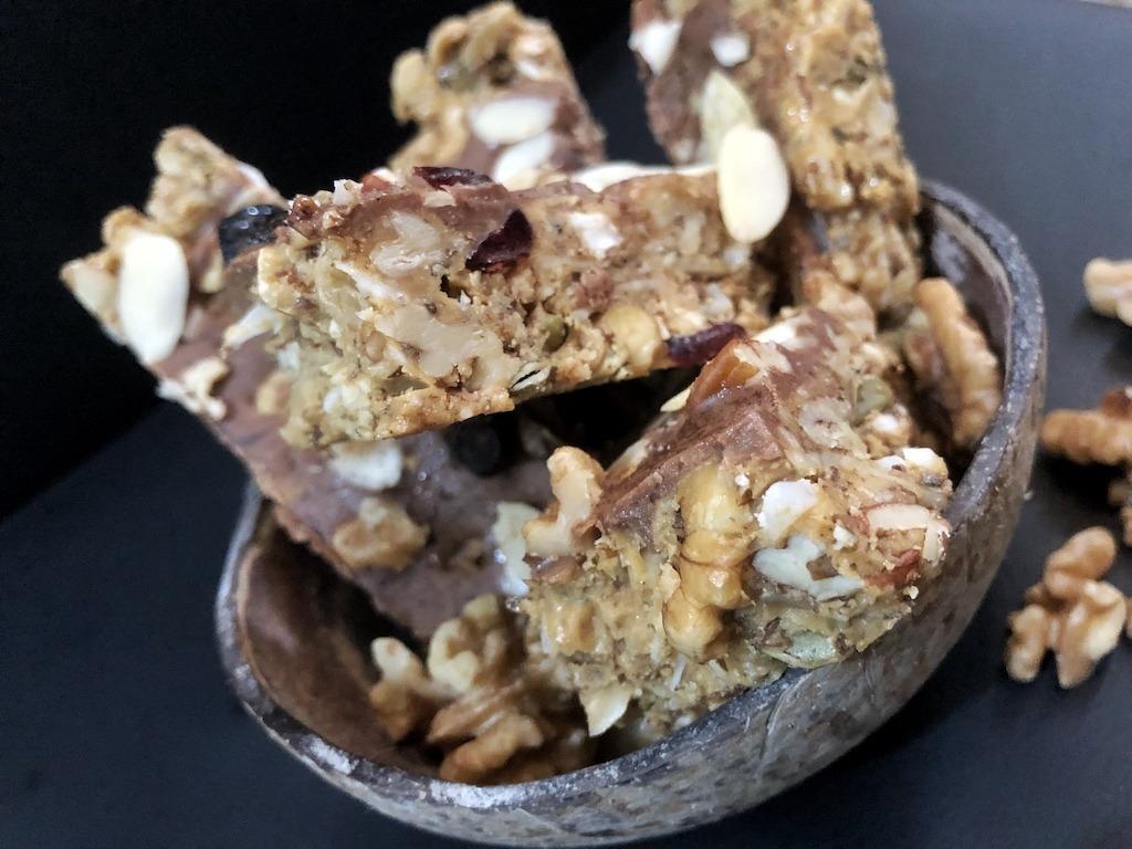 Granola Bar - Homemade Vegan Paleo Snack