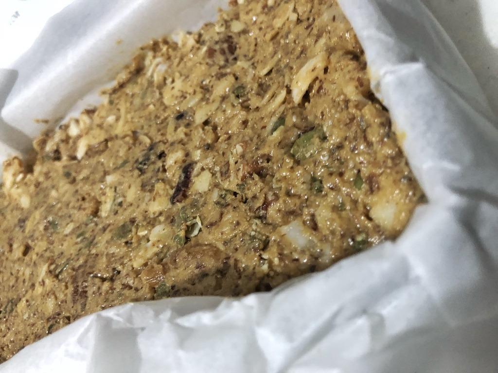 Granola Bar - Vegan Paleo Keto No Sugar Quick Snack