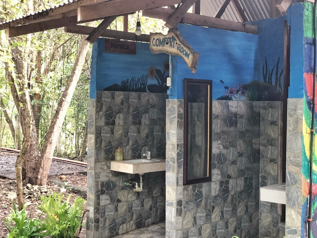 Place To Stay When Travelling To Bohol Panglao – Bohol Coco Farm Toilets