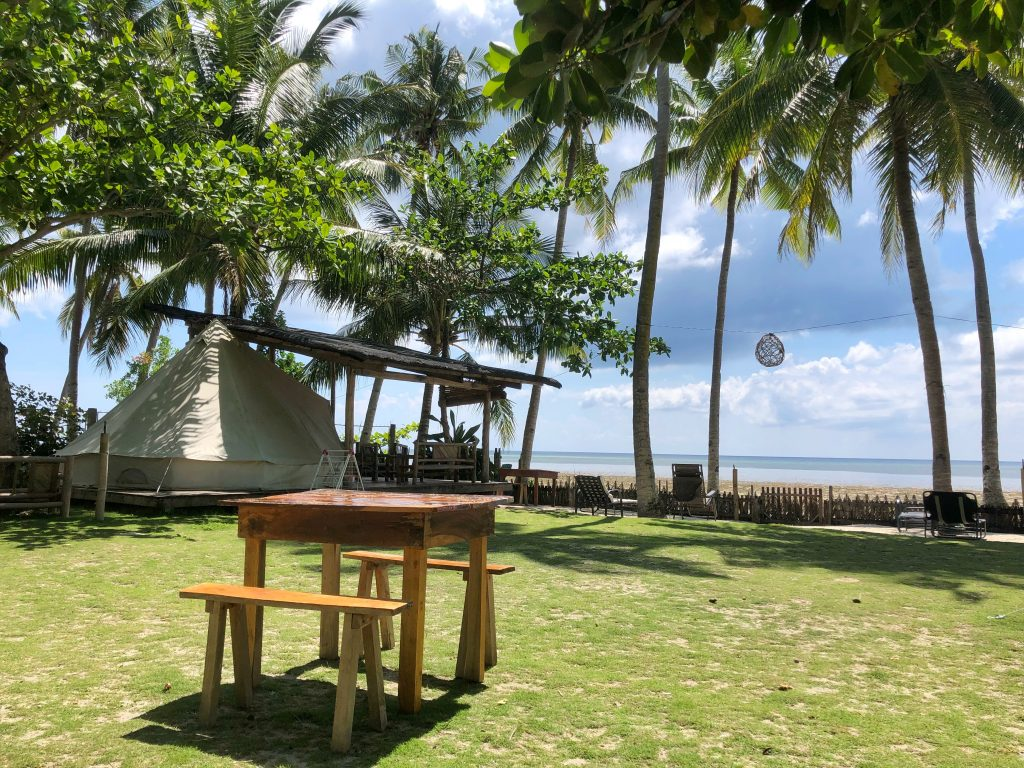 Place to stay when travelling to Siquijor – Glamping Siquijor Backpacker Place