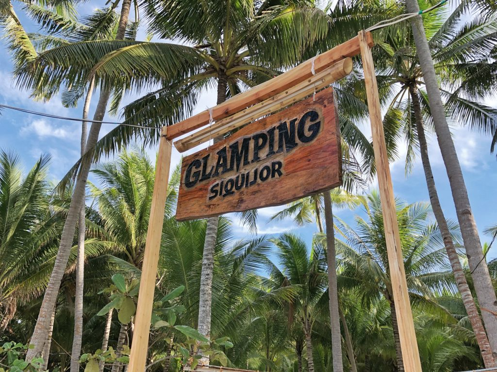 Where to stay when travelling to Siquijor – Glamping Siquijor Island