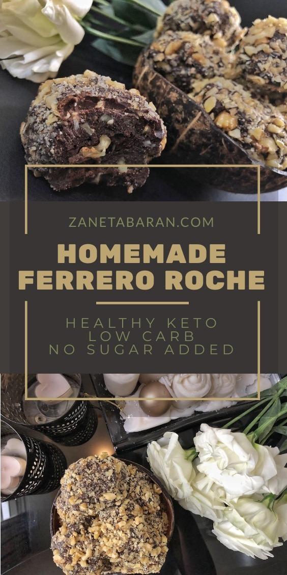 Homemade Ferrero Roche