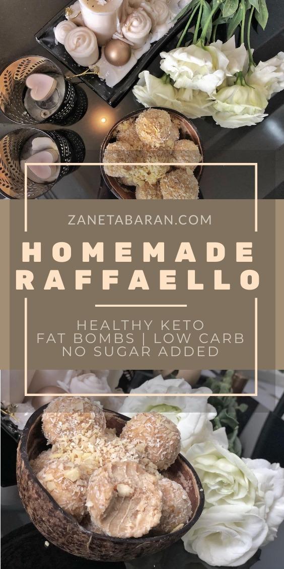 Homemade Raffaello